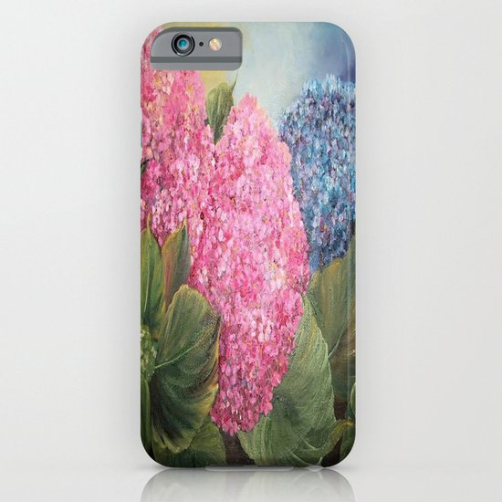 Hydrangeas iPhone & iPod Case