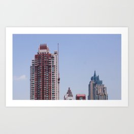 Bkk Buildings Art Print