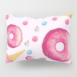 Sugar Sweet Tooth Pink Pillow Sham