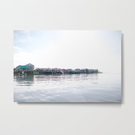 Koh Panyi | Thailand| village the water in thailand Metal Print