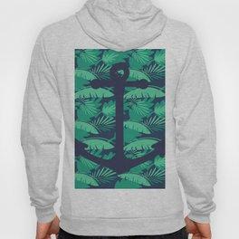 Anchor Tropical Palm Leaf Hoody