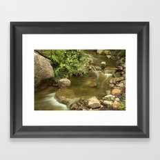 Water Flow Framed Art Print