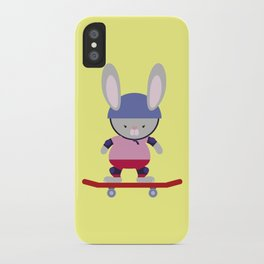 Bunny Skater iPhone Case