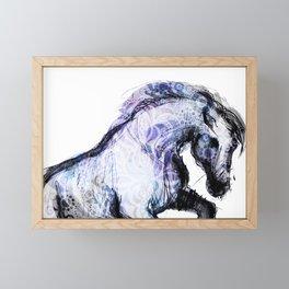 Horse (Ziomek) Framed Mini Art Print