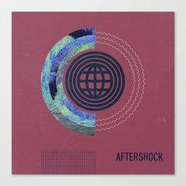 Aftershock Canvas Print
