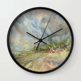 An American Farm Wall Clock
