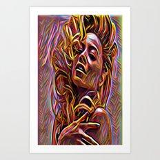 B look Art Print