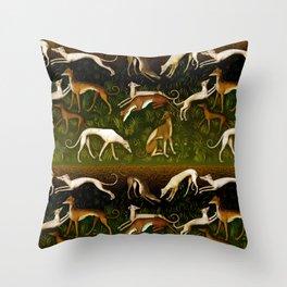 Sighthounds Throw Pillow
