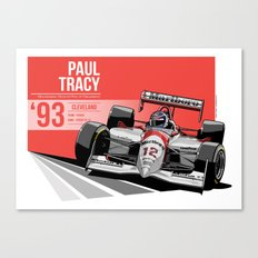 Paul Tracy - 1993 Cleveland Canvas Print