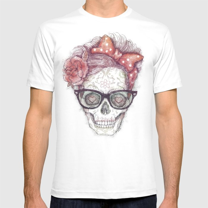 Hipster Girl is Dead T-shirt
