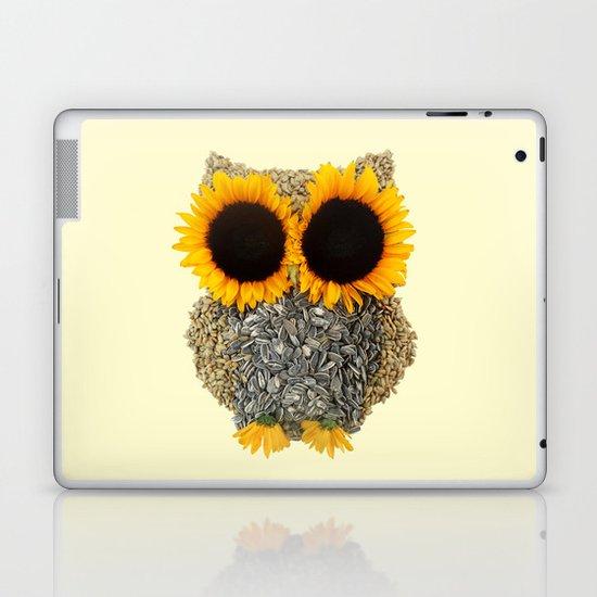 Hoot! Day Owl! Laptop & iPad Skin