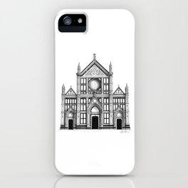 Basilica Di Santa Croce - Firenze iPhone Case