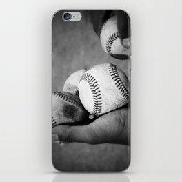 Batting Practice iPhone Skin