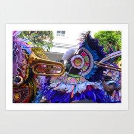 Junkanoo,Bahamas musician Art Print