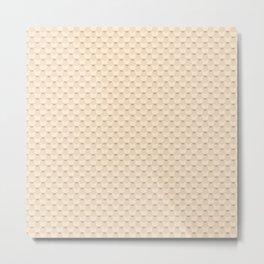 Light beige Metal Print