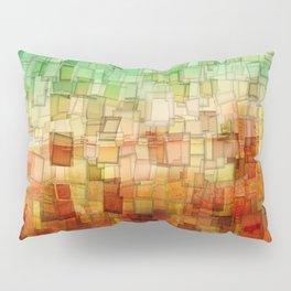 Golden Tide Mosaic Pillow Sham