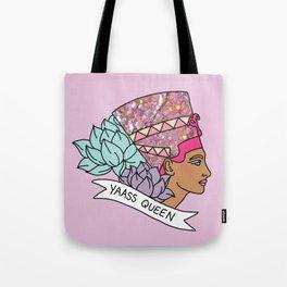 Yas Queen Eyptian Broad City Print Tote Bag