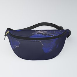 World Map Fanny Pack