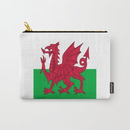 Flag of Wales,uk,great britain,dragon,cymru, welsh,celtic,cymry,cardiff,new port Carry-All Pouch