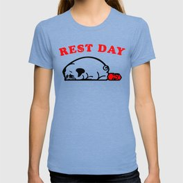 Rest Day Pug T-shirt