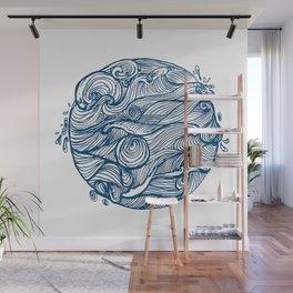 Rough sea (our earth) Wall Mural