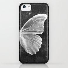 Butterfly in Black iPhone 5c Slim Case