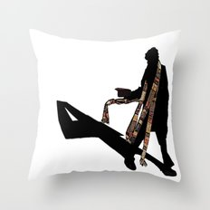 4th Doctor... Throw Pillow