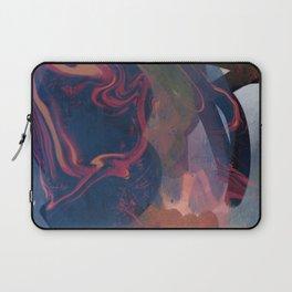 Minimal Zen Abstract Art Reflection of Life Laptop Sleeve