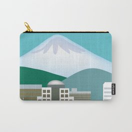 Portland, Oregon - Skyline Illustration by Loose Petals Carry-All Pouch