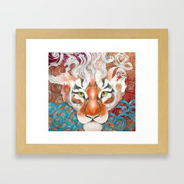 Cinnamon Buns and Dragons Framed Art Print
