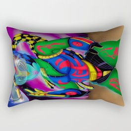 Alien Wear Rectangular Pillow