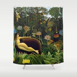 The Dream by Henri Rousseau (1910) Shower Curtain