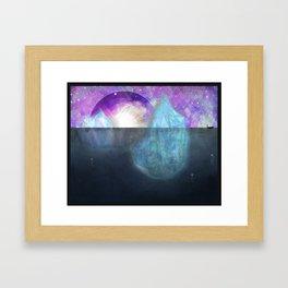Explosions Framed Art Print