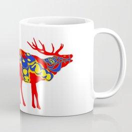 Graphic Dala Elk Coffee Mug