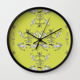 Inuit Wall Clock