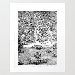 Mundo Perfecto Art Print