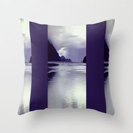 River View Wall Art Throw Pillow