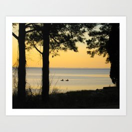 Go Kayaking Art Print