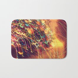 Butterfly Lights Bath Mat