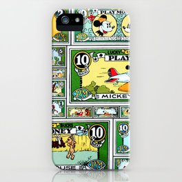 Lucky Bucks Play Money iPhone Case