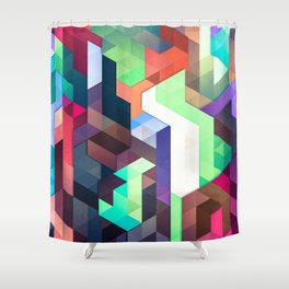 scope 2 (variant) Shower Curtain