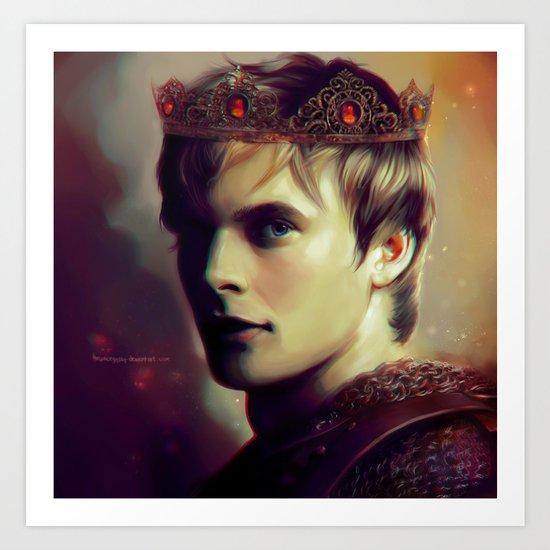 Prince Arthur  Art Print