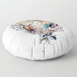 Momento Mori VII Floor Pillow
