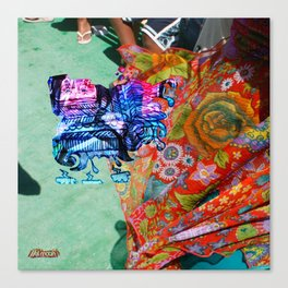 Explom Canvas Print