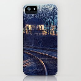 Railroad to the Music Room iPhone Case