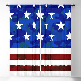 US Flag (Camouflage) Blackout Curtain