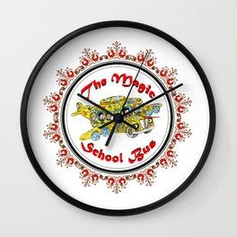 Magic School Bus Wall Clock