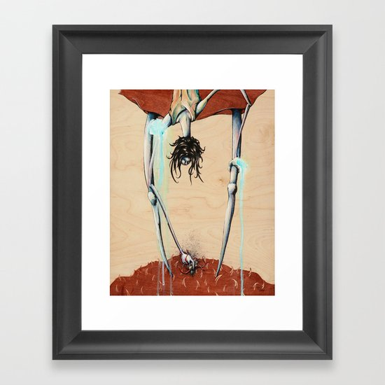 The Harvester Framed Art Print