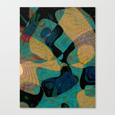Ares Helmeted Canvas Print
