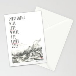 River of Living Water Stationery Cards
